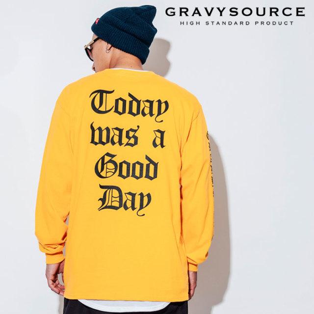 GRAVYSOURCE(グレイヴィーソース) TWGD L/S TEE 【2018AUTUMN/WINTER先行予約】 【キャンセル不可】【GS18-ACS05】