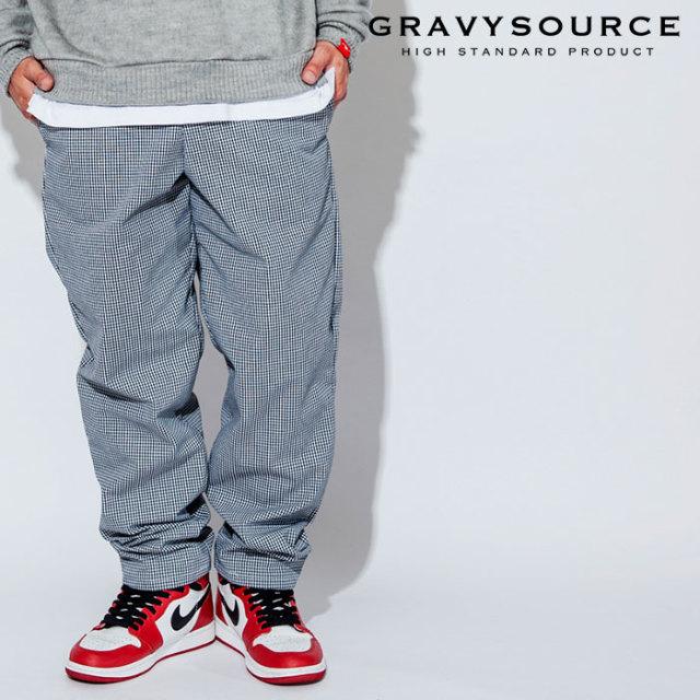 GRAVYSOURCE(グレイヴィーソース) BAGGY PANTS 【2018AUTUMN/WINTER先行予約】 【キャンセル不可】【GS18-APT01】