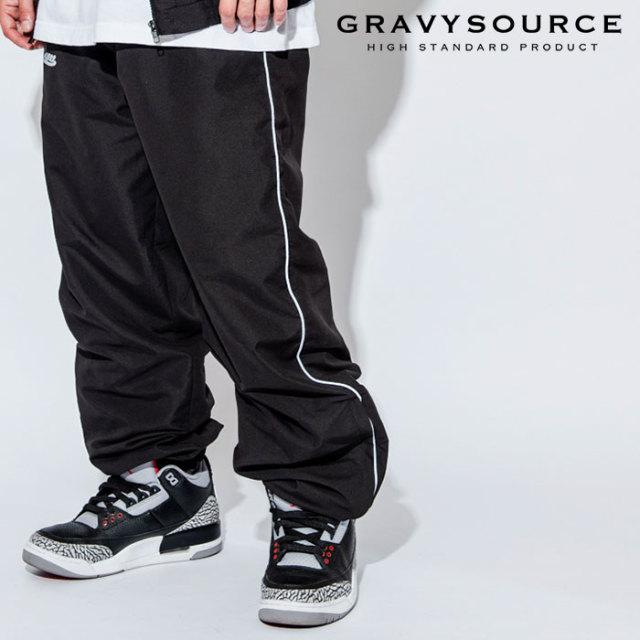 GRAVYSOURCE(グレイヴィーソース) TRCK PANTS 【2018AUTUMN/WINTER先行予約】 【キャンセル不可】【GS18-APT02】