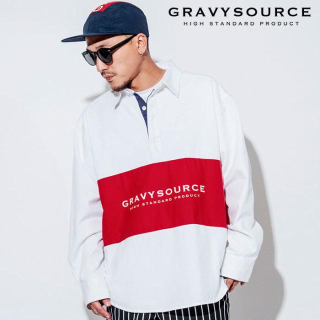 GRAVYSOURCE(グレイヴィーソース) SWITCH SHIRT 【2018AUTUMN/WINTER先行予約】 【キャンセル不可】【GS18-ASH01】