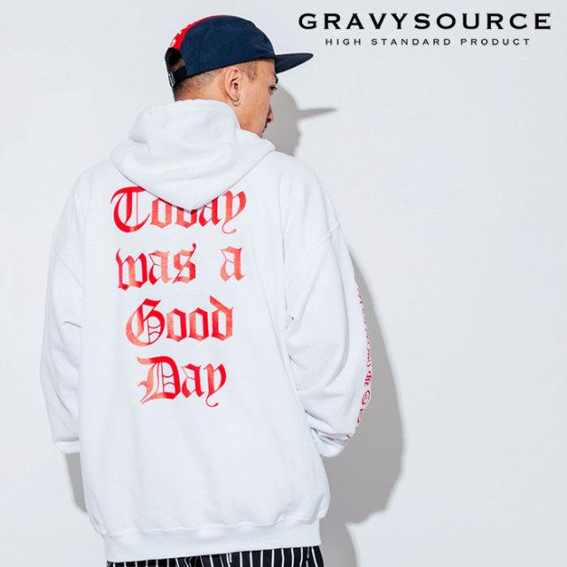 GRAVYSOURCE(グレイヴィーソース) TWGD ZIP HOODY 【2018AUTUMN/WINTER先行予約】 【キャンセル不可】【GS18-ASW05】