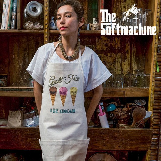 SOFTMACHINE(ソフトマシーン) GUILT FREE APRON(APRON) 【2019SUMMER VACATION新作】【エプロン】