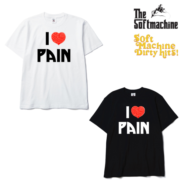 SOFTMACHINE(ソフトマシーン) PAIN-T(T-SHIRTS)(2003) 【SOFTMACHINE DIRTY HITS】【復刻 Tシャツ】