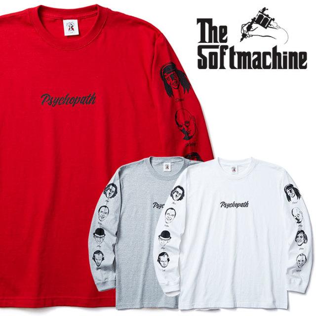 SOFTMACHINE(ソフトマシーン) PSYCHOPATH L/S(L/S T-SHIRTS) 【2019SUMMER VACATION新作】【ロングスリーブTシャツ】