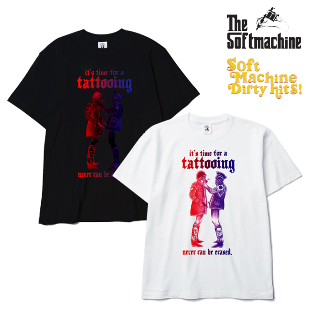 SOFTMACHINE(ソフトマシーン) SOLDIERS-T(T-SHIRTS)(2010) 【SOFTMACHINE DIRTY HITS 先行予約】【キャンセル不可】【Tシャツ】
