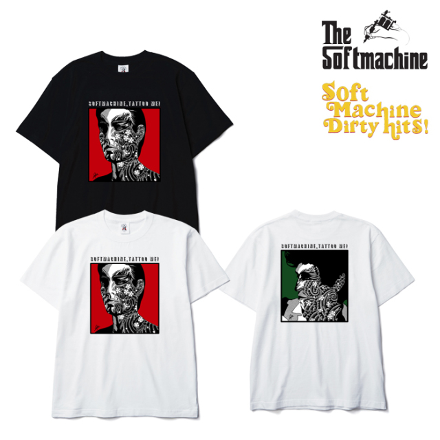 SOFTMACHINE(ソフトマシーン) TATTOO ME-T(T-SHIRTS)(2003) 【SOFTMACHINE DIRTY HITS】【復刻 Tシャツ】