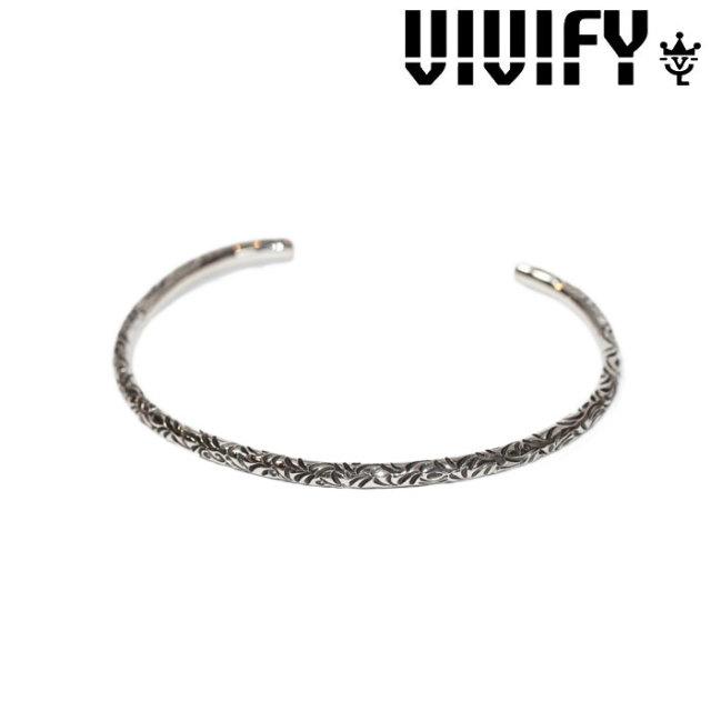 VIVIFY(ヴィヴィファイ)(ビビファイ) Full Arabesque Bangle(3mmbody) 【オーダーメイド 受注生産】 【キャンセル不可】 【VIV