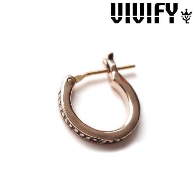VIVIFY(ヴィヴィファイ)(ビビファイ) K10gold Mil HoopPierce 【オーダーメイド 受注生産】【キャンセル不可】 【VIVIFY ピアス】