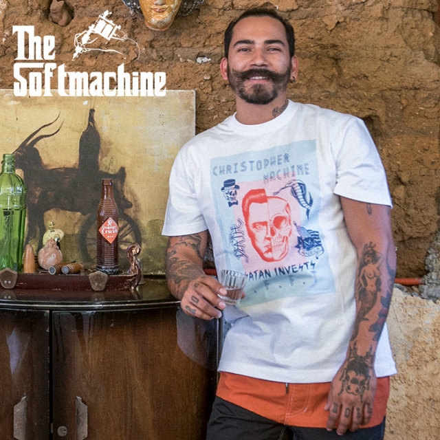 SOFTMACHINE(ソフトマシーン) WALKEN-T(T-SHIRTS) 【2019SUMMER VACATION先行予約】【キャンセル不可】【Tシャツ】