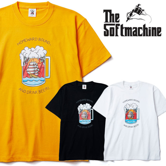 SOFTMACHINE(ソフトマシーン) WAY BACK-T(T-SHIRTS) 【2019SUMMER VACATION新作】【Tシャツ】