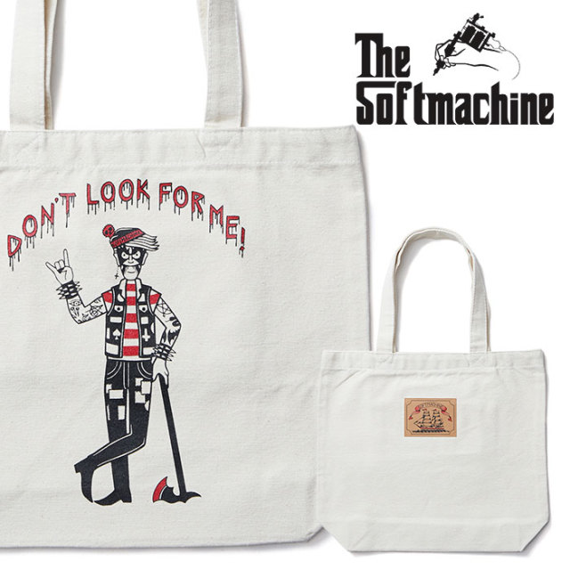 SOFTMACHINE(ソフトマシーン) WORRY TOTE (TOTE BAG) 【2019SUMMER VACATION先行予約】【キャンセル不可】【トートバッグ】