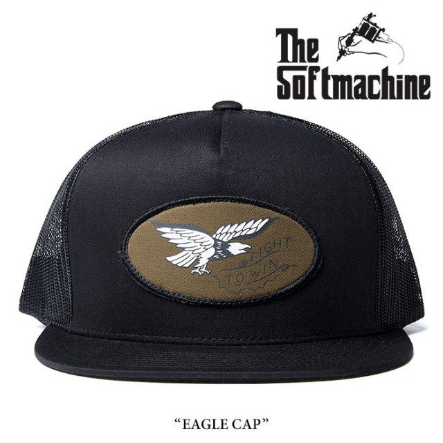 【SALE30%OFF】 SOFTMACHINE(ソフトマシーン) EAGLE CAP(MESH CAP) 【2017AUTUMN/WINTER新作】 【即発送可能】 【SOFTMACHINE