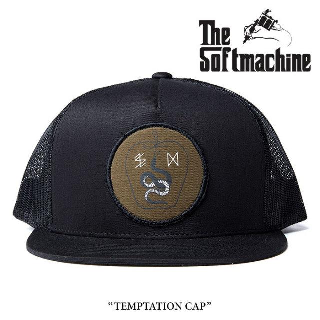 SOFTMACHINE(ソフトマシーン) TEMPTATION CAP(MESH CAP) 【2017AUTUMN/WINTE新作】 【即発送可能】 【SOFTMACHINE キャップ】