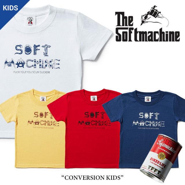 SOFTMACHINE(ソフトマシーン) CONVERSION KIDS(KIDS-T) 【2017SUMMER VACATION新作】 【即発送可能】 【SOFTMACHINE キッズTシャ