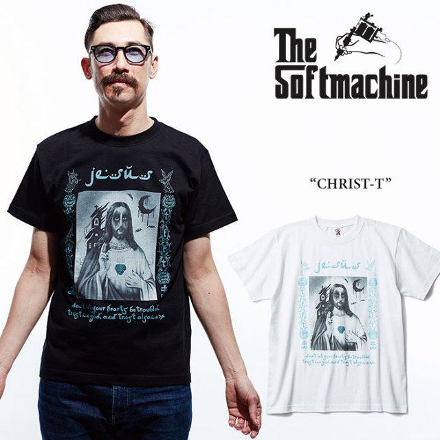 【SALE40%OFF】 SOFTMACHINE(ソフトマシーン) CHRIST-T(T-SHIRTS) 【2017SUMMER VACATION新作】 【即発送可能】 【SOFTMACHINE
