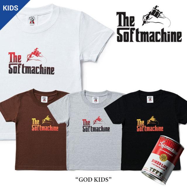 SOFTMACHINE(ソフトマシーン) GOD KIDS(KIDS-T) 【2017SUMMER VACATION新作】 【即発送可能】 【SOFTMACHINE キッズTシャツ】