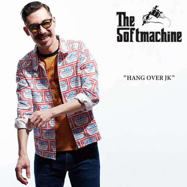 【SALE40%OFF】 SOFTMACHINE(ソフトマシーン) HANG OVER JK(DRIZZLER JACKET) 【2017SUMMER VACATION新作】 【送料無料】 【SOF
