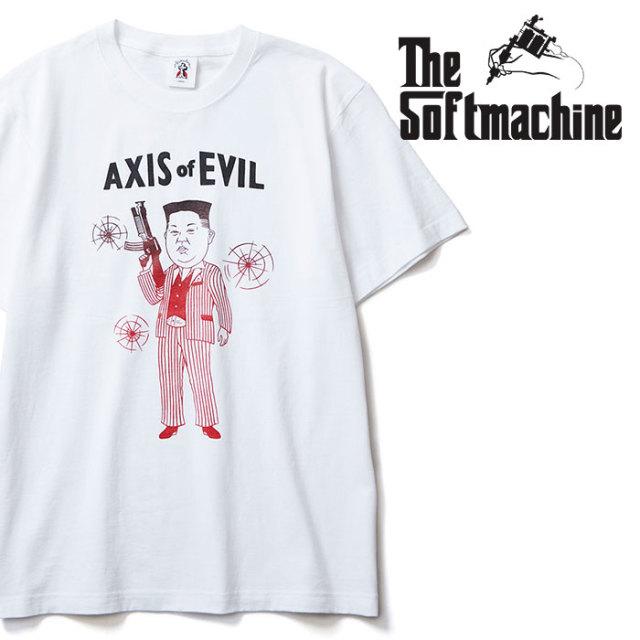 SOFTMACHINE(ソフトマシーン) AXIS-T 【Tシャツ】【ホワイト タトゥー】【2020SPRING&SUMMER先行予約】【キャンセル不可】