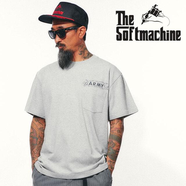 SOFTMACHINE(ソフトマシーン) BARMY-PT 【Tシャツ 半袖】【ブラック グレー タトゥー】【2021 SPRING&SUMMER先行予約】【キャンセ
