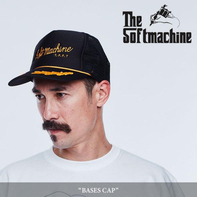SOFTMACHINE(ソフトマシーン) BASES CAP(MESH CAP) 【2018SPRING/SUMMER先行予約】 【キャンセル不可】 【SOFTMACHINE メッシュ