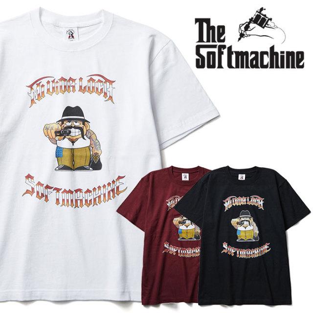 SOFTMACHINE(ソフトマシーン) CHOLO-T 【Tシャツ】【ホワイト ブラック タトゥー】【2020SPRING&SUMMER先行予約】【キャンセル不可