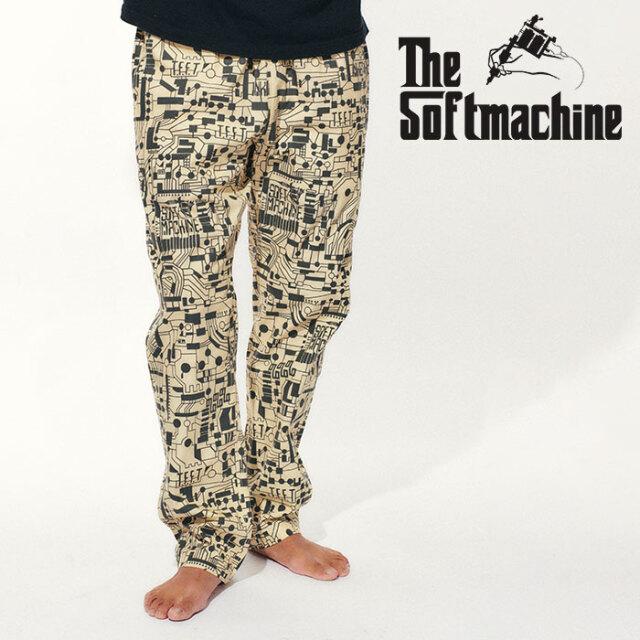 SOFTMACHINE(ソフトマシーン) CIRCUIT PANTS(EASY PANTS) 【イージーパンツ】【ホワイト タトゥー】【2021 SPRING&SUMMER先行予約