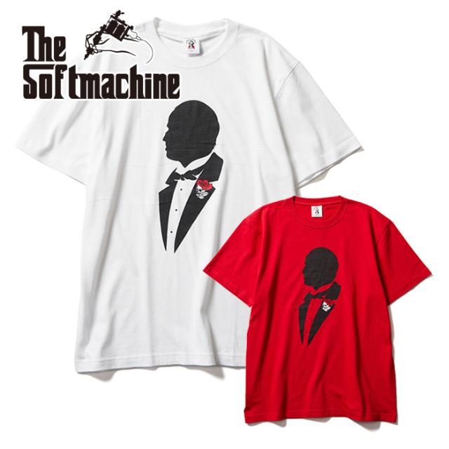 SOFTMACHINE(ソフトマシーン)   CORLEONE-T 【Tシャツ 半袖】【ホワイト レッド タトゥー】【2021 AUTUMN&WINTER 先行予約】【キ