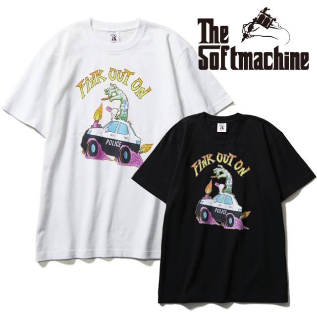 SOFTMACHINE(ソフトマシーン) CRUISING-T(T-SHIRTS) 【Tシャツ 半袖】【ブラック ホワイト タトゥー】【2021 SUMMERVACATION新作】