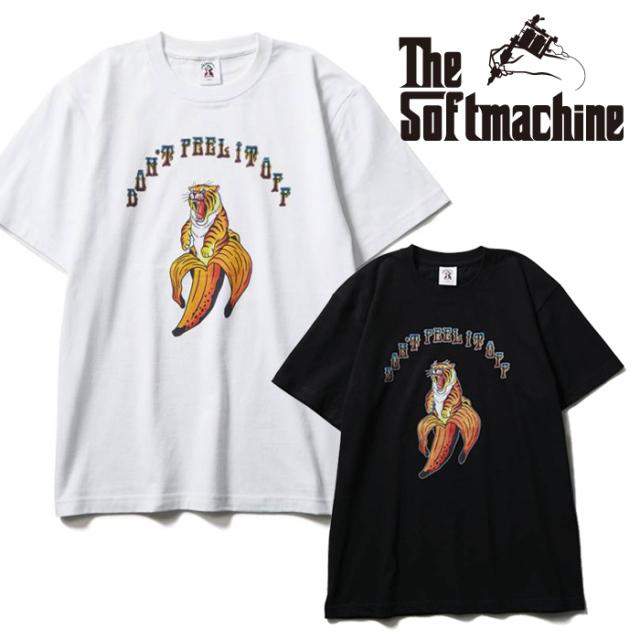SOFTMACHINE(ソフトマシーン) DON'T PEEL-T(T-SHIRTS) 【Tシャツ 半袖】【ブラック ホワイト タトゥー】【2021 SUMMERVACATION新作