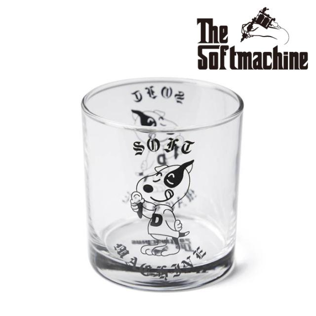 SOFTMACHINE(ソフトマシーン) DOYLE GLASS(GLASS) 【グラス コップ タトゥー】【2021 SUMMERVACATION先行予約】【キャンセル不可】
