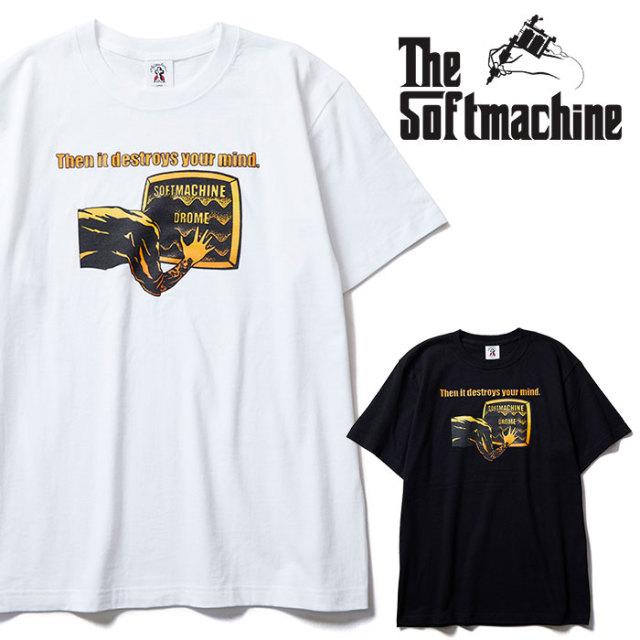 SOFTMACHINE(ソフトマシーン) DROME-T 【Tシャツ】【ホワイト ブラック タトゥー】【2020SPRING&SUMMER先行予約】【キャンセル不可