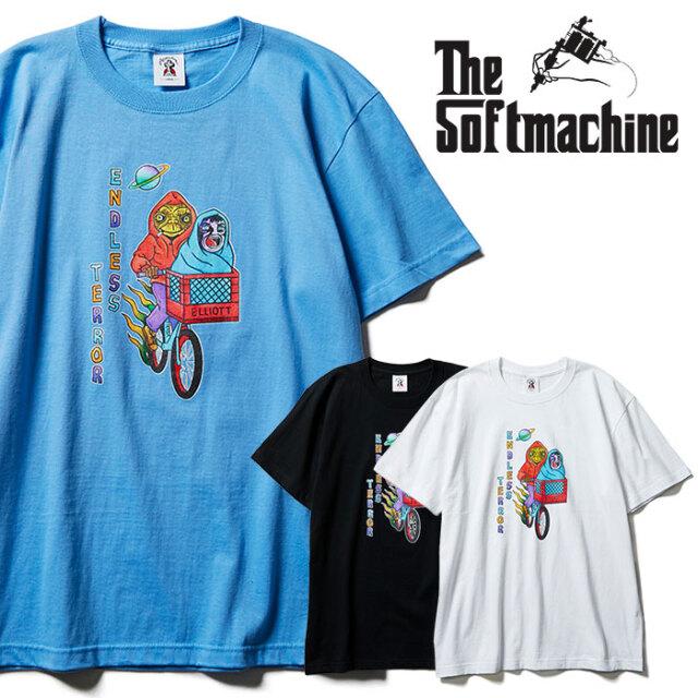 SOFTMACHINE(ソフトマシーン) ELLIOTT-T 【Tシャツ 半袖】【ブラック ホワイト ブルー タトゥー】【2021 SPRING&SUMMER先行予約】