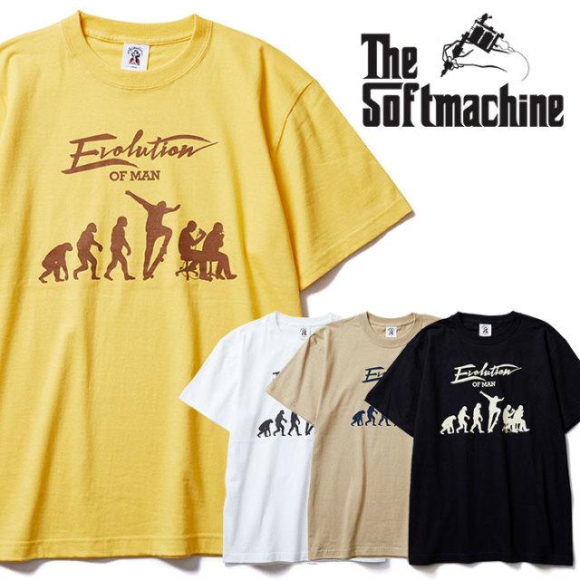 SOFTMACHINE(ソフトマシーン) EVOLUTION-T 【Tシャツ】【ブラック ホワイト タトゥー】【2020SPRING&SUMMER先行予約】【キャンセル