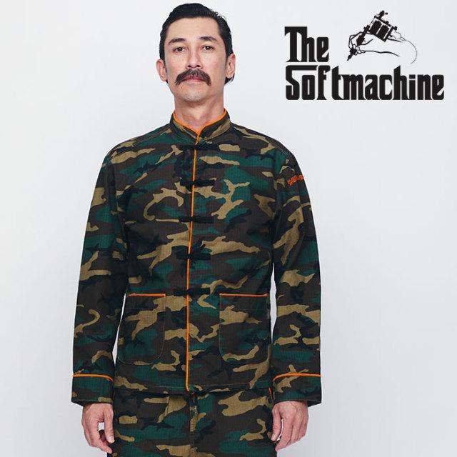 SOFTMACHINE(ソフトマシーン) FAR EAST JK 【マオジャケット】【ブラック カモ タトゥー】【送料無料】 【2020SPRING&SUMMER先行