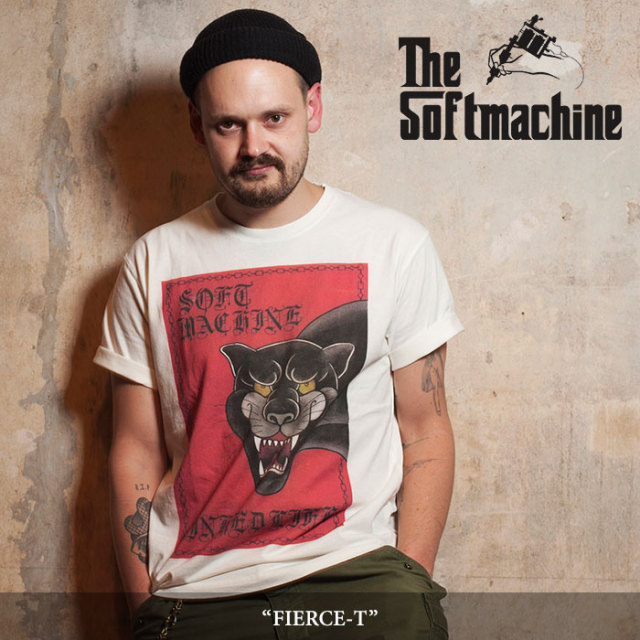 SOFTMACHINE(ソフトマシーン) FIERCE-T (T-SHIRTS) 【2018SPRING/SUMMER新作】 【キャンセル不可】 【SOFTMACHINE Tシャツ】