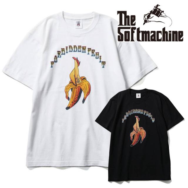 SOFTMACHINE(ソフトマシーン) FORBIDDEN-T(T-SHIRTS) 【Tシャツ 半袖】【ブラック ホワイト タトゥー】【2021 SUMMERVACATION先行
