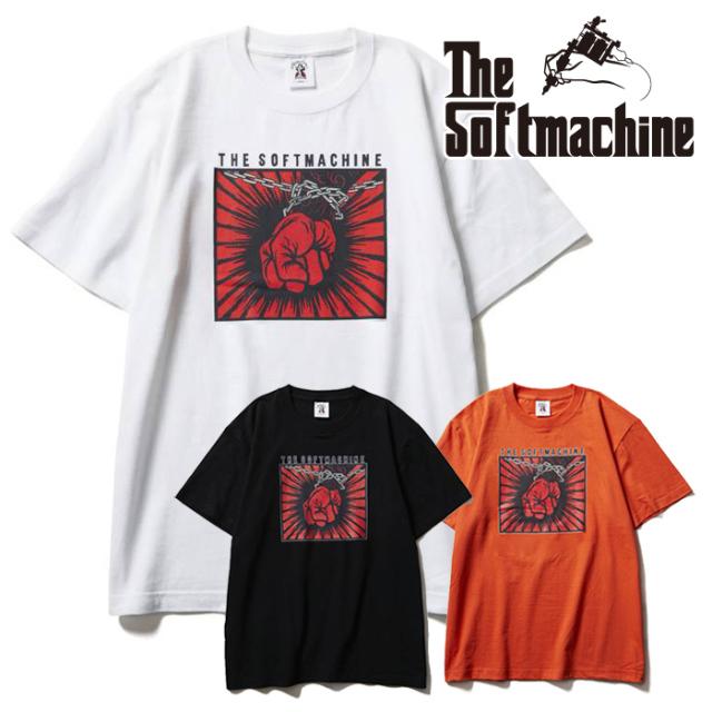 SOFTMACHINE(ソフトマシーン) FRANTIC-T(T-SHIRTS) 【Tシャツ 半袖】【ブラック ホワイト オレンジ タトゥー】【2021 SUMMERVACATI