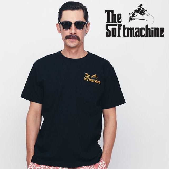 SOFTMACHINE(ソフトマシーン) GOD-PT 【ポケットTシャツ】【ブラック ホワイト タトゥー】【2020SPRING&SUMMER先行予約】【キャン