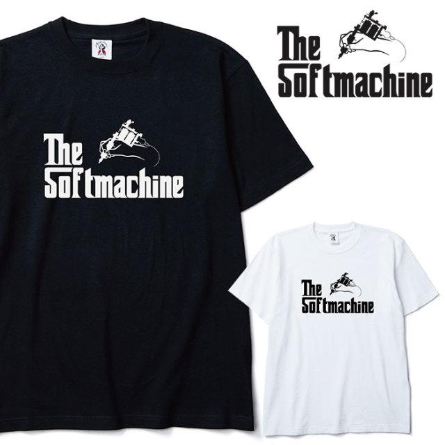 SOFTMACHINE(ソフトマシーン) GOD-T 【Tシャツ】【ブラック ホワイト タトゥー】【2020SPRING&SUMMER先行予約】【キャンセル不可】
