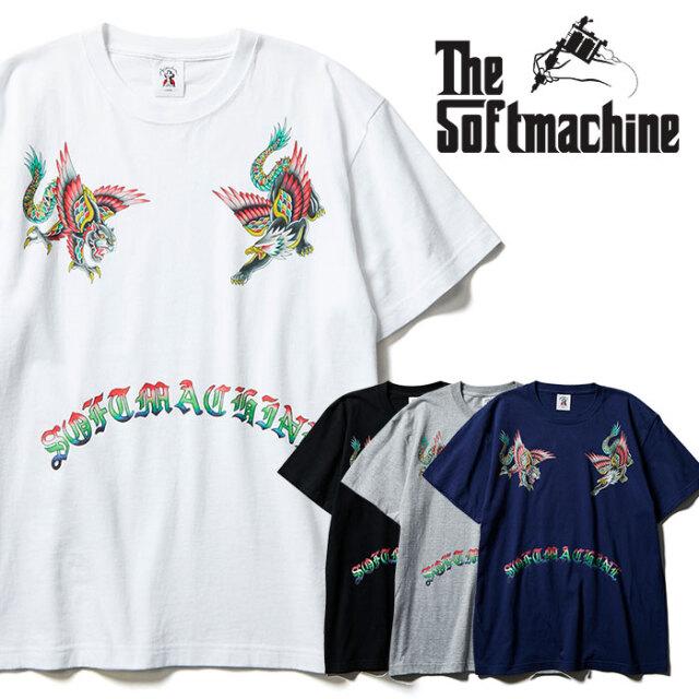 SOFTMACHINE(ソフトマシーン) GOD BEAST-T 【Tシャツ 半袖】【ブラック ホワイト グレー タトゥー】【2021 SPRING&SUMMER先行予約