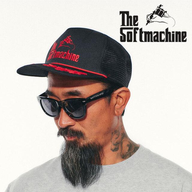 SOFTMACHINE(ソフトマシーン)  GOD BS CAP(MESH CAP) 【メッシュキャップ タトゥー】【2021 SPRING&SUMMER先行予約】【キャンセル