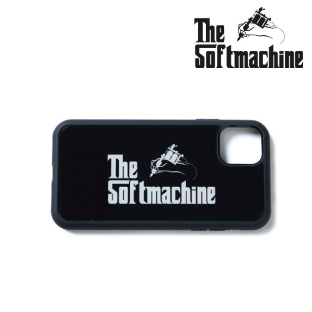 SOFTMACHINE(ソフトマシーン) GOD iPhone CASE 【アイフォンケース】【ブラック タトゥー】【2021 SPRING&SUMMER先行予約】【キャ