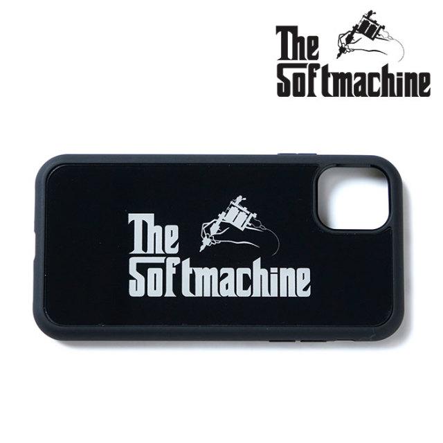 SOFTMACHINE(ソフトマシーン) GOD iPhone CASE 【iPhoneケース】【ブラック タトゥー】【送料無料】 【2020SPRING&SUMMER新作】