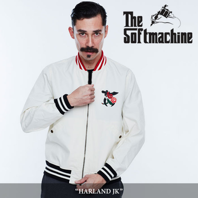 【SALE】 SOFTMACHINE(ソフトマシーン) HARLAND JK(STADIUM JACKET) 【2018SPRING/SUMMER新作】