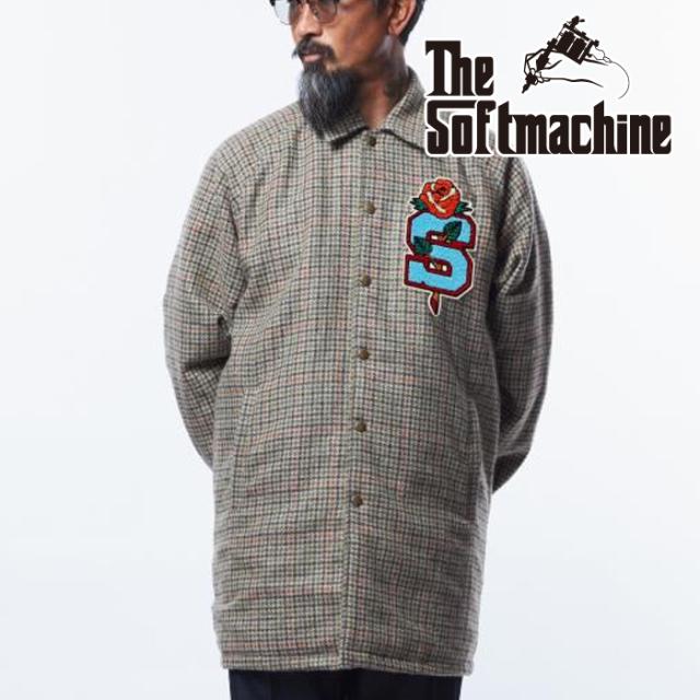 SOFTMACHINE(ソフトマシーン) JACKSON COAT 【コート】【ベージュ タトゥー】【2021 AUTUMN&WINTER 先行予約】【キャンセル不可】