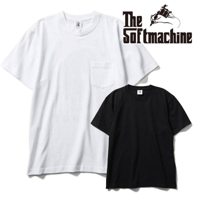 SOFTMACHINE(ソフトマシーン) KAFKA-T(T-SHIRTS) 【ポケットTシャツ 半袖】【ブラック ホワイト タトゥー】【2021 SUMMERVACATION