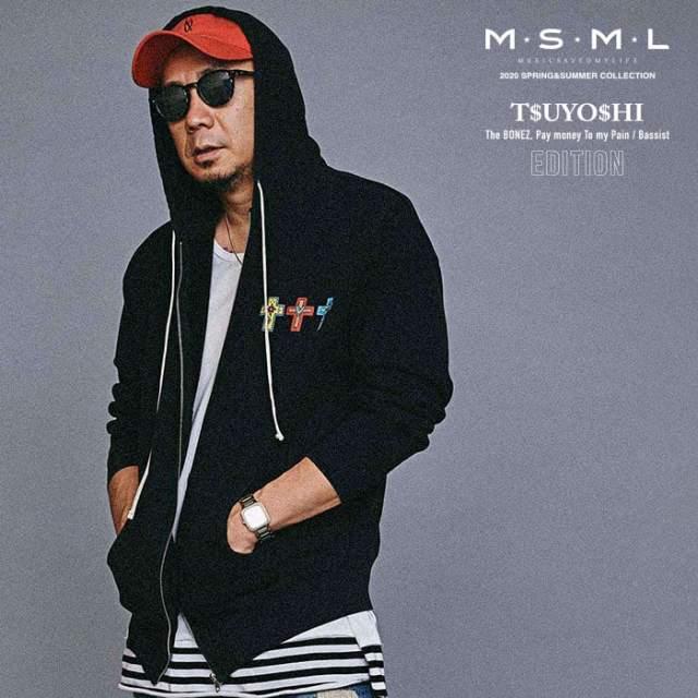 MSML(MUSIC SAVED MY LIFE)(エムエスエムエル) GRAPHIC ZIP HOODIE 【ジップパーカー】【ストリート ロック バンド】【送料無料】