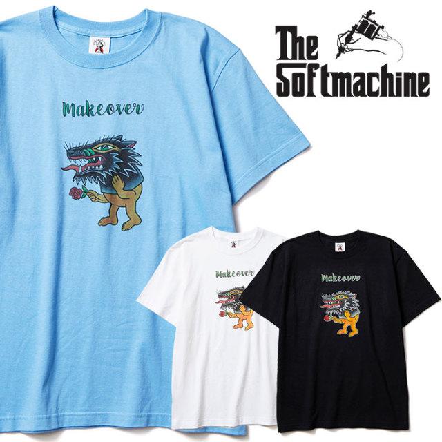 SOFTMACHINE(ソフトマシーン) MAKE OVER-T 【Tシャツ】【ホワイト ブラック タトゥー】【2020SPRING&SUMMER先行予約】【キャンセル
