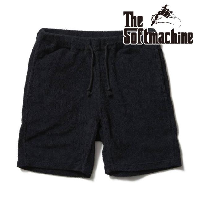 SOFTMACHINE(ソフトマシーン) MALIBU SHORTS(PILE EASY SHORTS) 【ショートパンツ】【ブラック タトゥー】【2021 SUMMERVACATION新