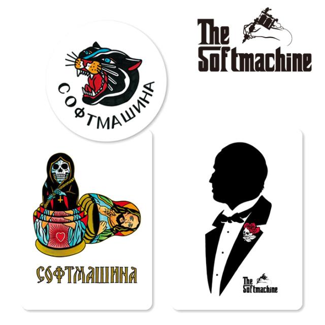 SOFTMACHINE (ソフトマシーン)  SM STICKER SET 【ステッカーセット タトゥー】【2021 AUTUMN&WINTER 新作】